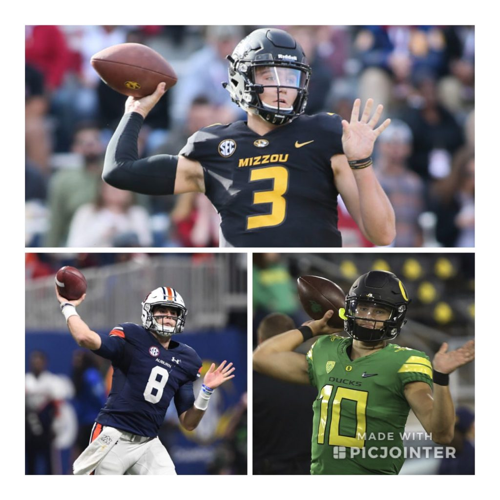 2019 NFL Draft Position Rankings: QB