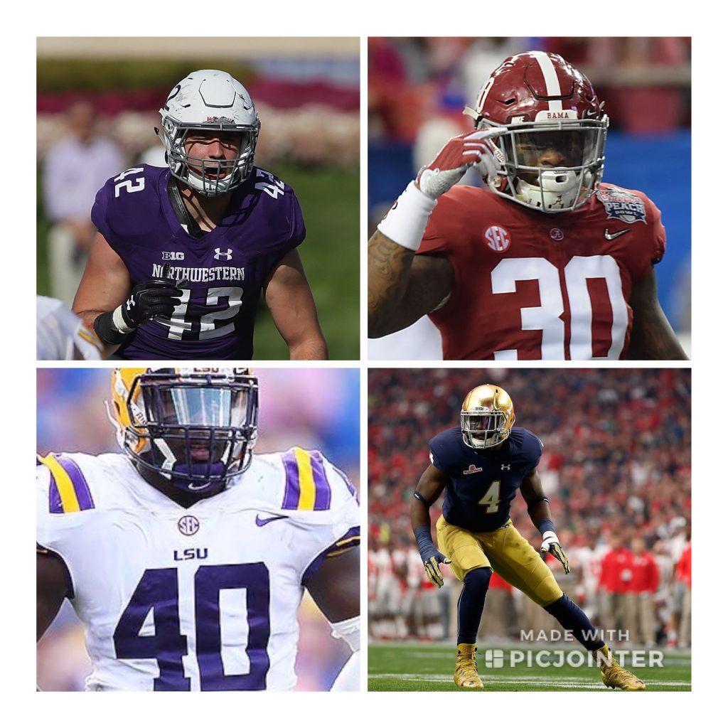 2019 NFL Draft Position Rankings: LB